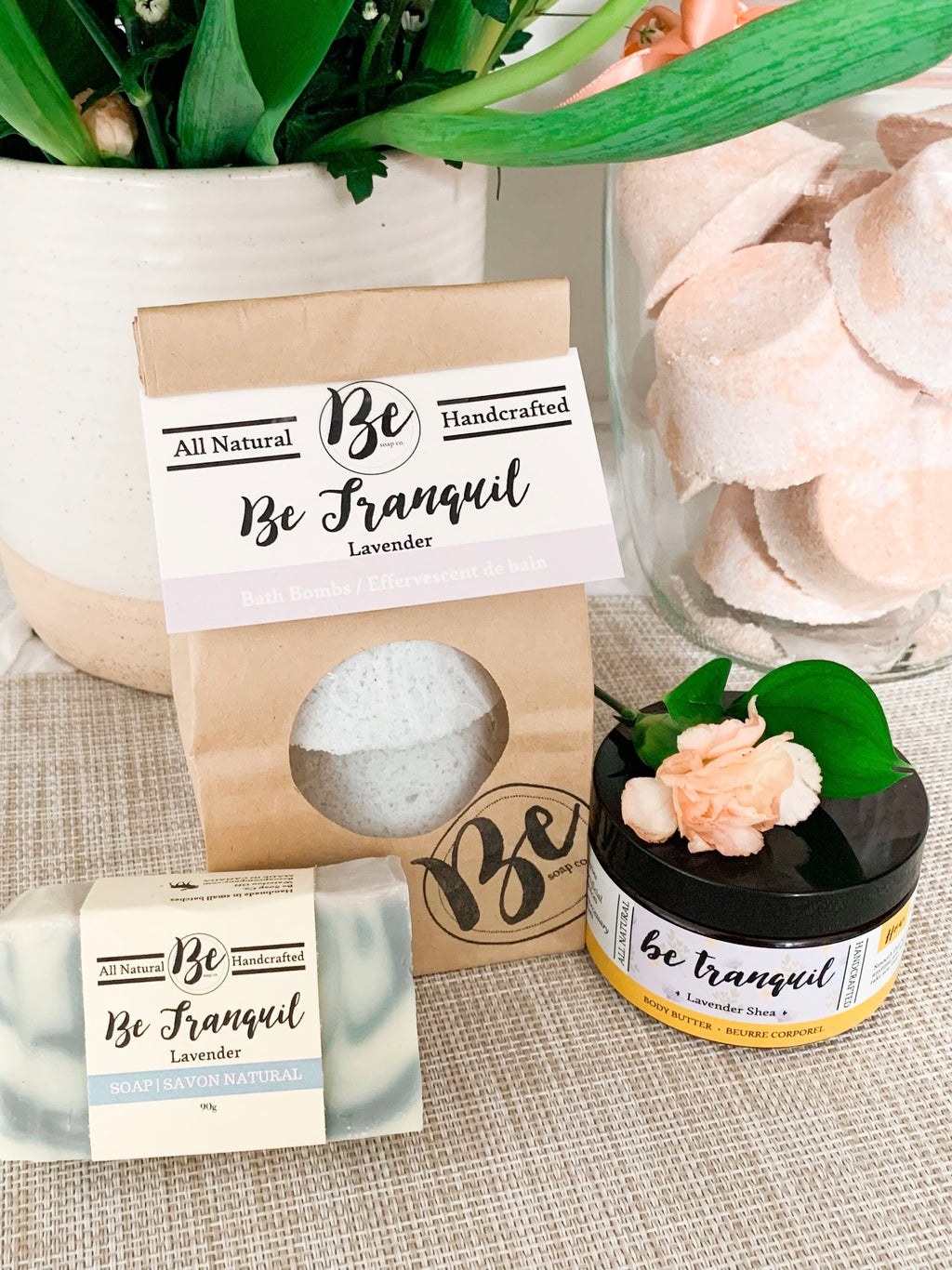 Be Tranquil Lavender Gift Set