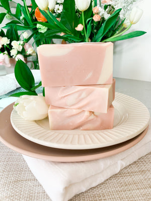 Be Lively - Grapefruit, Lavender & Vanilla Bean Soap Bar
