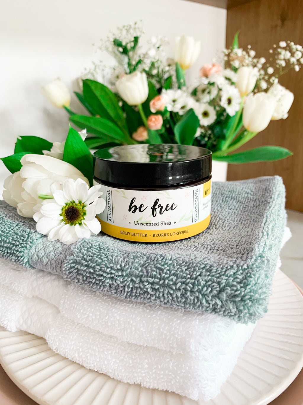 Be Free - Unscented Shea Butter (for sensitive skin types)