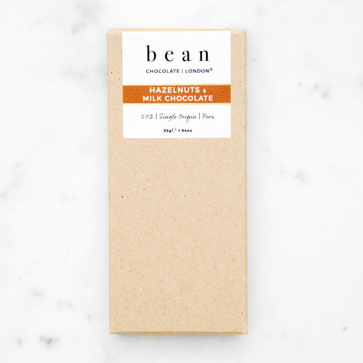 Hazelnuts & Milk Chocolate - bean CHOCOLATE | LONDON