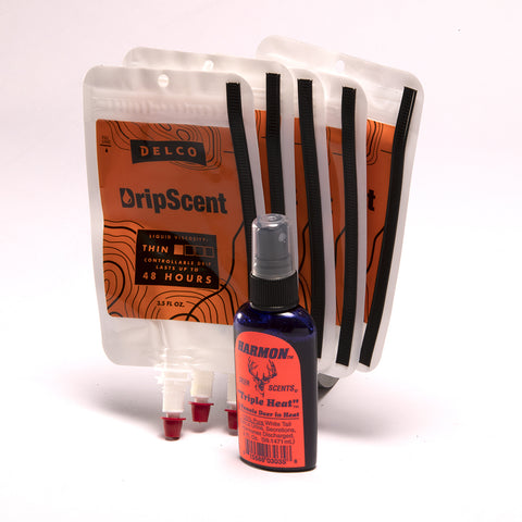Doe Triple Heat w/ 5 pack of DripScent Bags