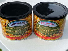 Load image into Gallery viewer, Carolina BBQ Spicy Sriracha cans Gillespie's Peanuts grown on our family farm