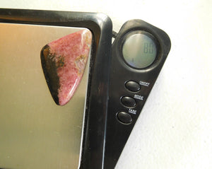 Rhodonite Cabochon #60 100% Crystal
