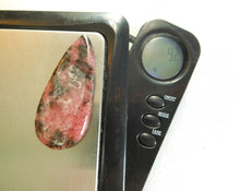 Load image into Gallery viewer, Rhodonite Cabochon #61 100% Crystal