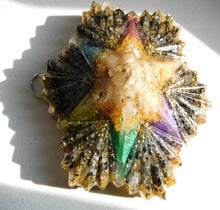 Load image into Gallery viewer, Custom Creations 6 Pointed Star Positive Orgone Energy Abundance=Life+LOVE!!!
