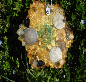 Custom Creations 6 Pointed Star Positive Orgone Energy Abundance=Life+LOVE!!!