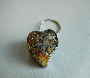 Key Rings Right Spiral Hearts Custom Positive Orgone Energy Accumulator Generator LIFE LOVE!!!