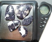 Load image into Gallery viewer, Purple Lepidolite Cabochons #122 100% Crystal