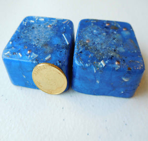 Blue Colors Mini Cube Tower Busters