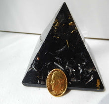 "Load image into Gallery viewer, Black Sun Pyramid 2""H 2.75""B"