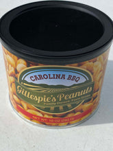 Load image into Gallery viewer, Honey Roasted Carolina BBQ cans Gillespie's Peanuts grown on our family farm