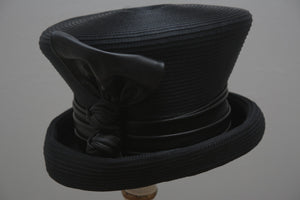Black Riding Hat