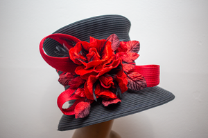 Christmas Roses - Hats by Shellie McDowell
