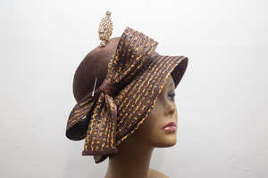 Cheetah Light Cloche - Hats by Shellie McDowell
