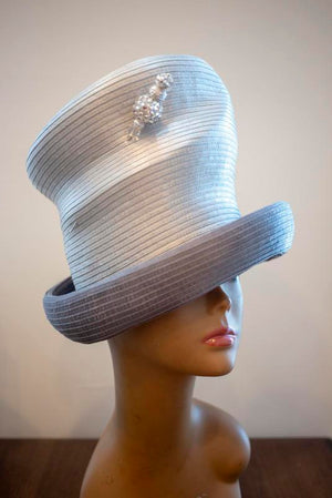 SLIVER GRAY/PEWTER - Hats by Shellie McDowell
