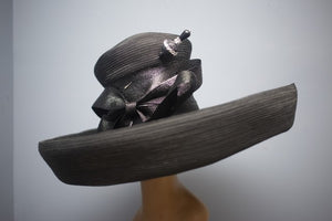 OFF TO THE RACES BLACK HORSEHAIR