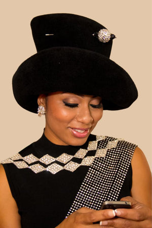 Coco Chanel Queen Charlene Version - Hats by Shellie McDowell