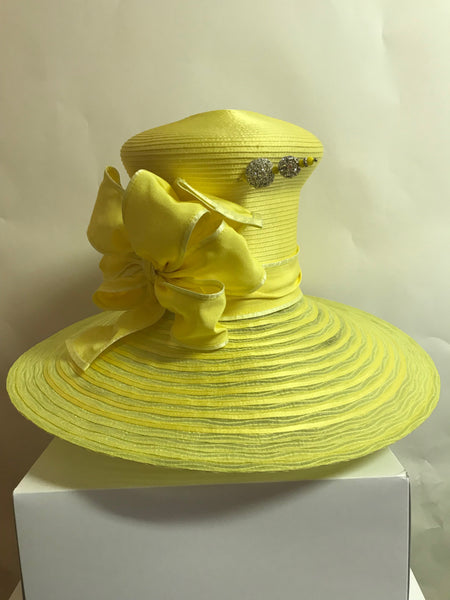 Yellow Wide Brim
