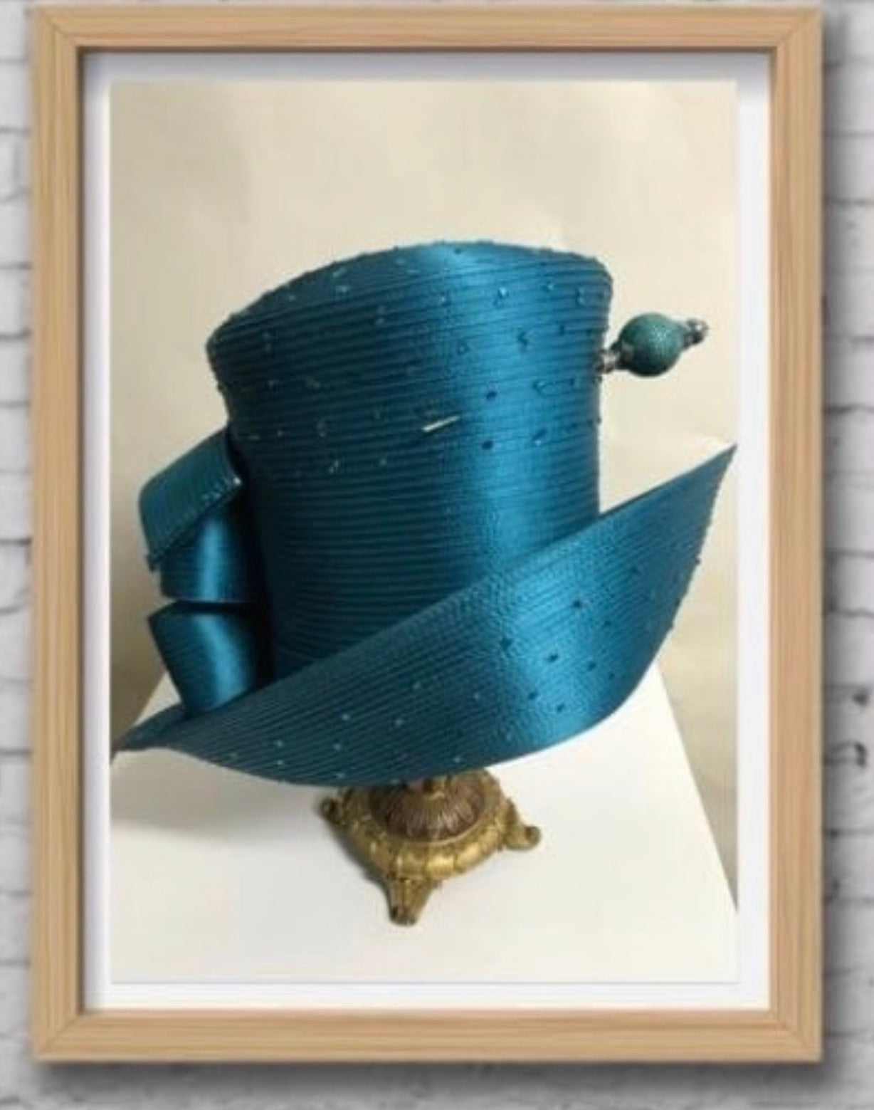 Premium Teal  CoCo Chanel - Hats by Shellie McDowell