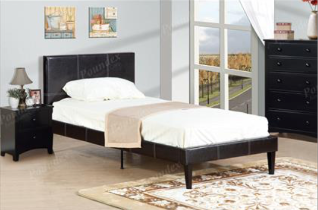 Youth Bed Leather