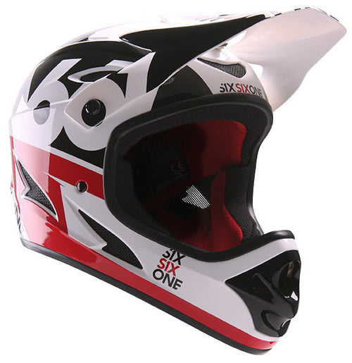 COMP HELMET CPSC/CE RED BLACK