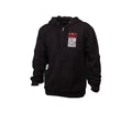 RIDE FAST FULL ZIP HOODIE BLACK