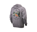 TROPICS FULL ZIP HOODIE HEATHER GRAY
