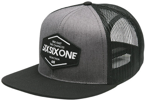 TSR SNAPBACK HAT HEATHER GRAY