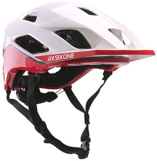 EVO AM PATROL HELMET W/ MIPS CPSC WHITE/RED