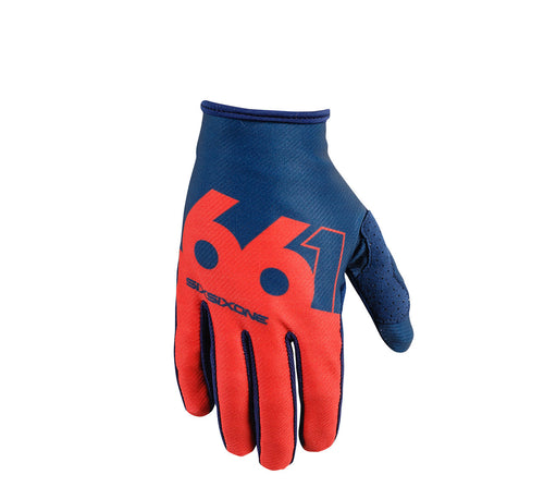 COMP SLICE GLOVE NAVY/RED