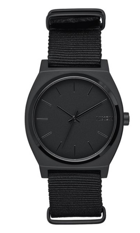 Nixon Time Teller All Black Matte