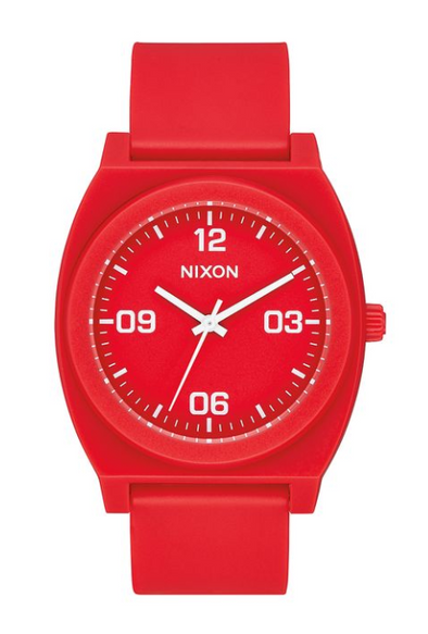 Nixon Time Teller P Corp Red
