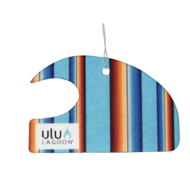 Ulu Baja Mini Wave Air Freshener (Coconut Surf Wax Scent)