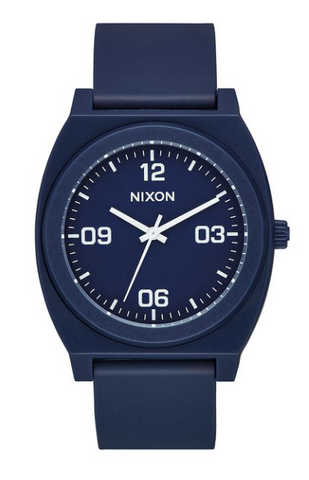 Nixon Time Teller Matte Navy/White
