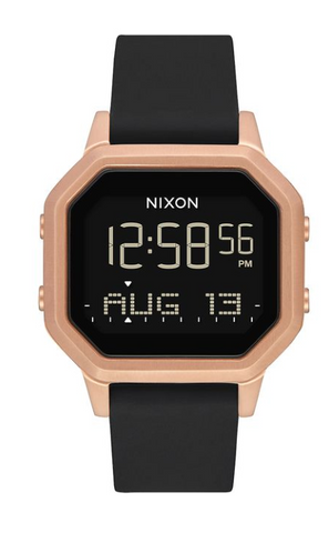 Nixon Siren SS Rose Gold Black