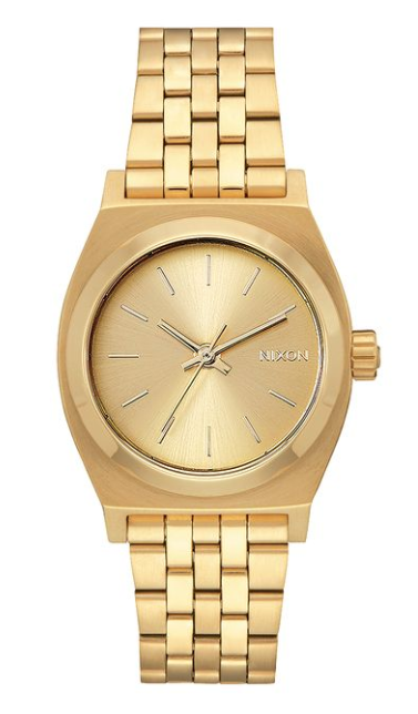 Nixon Medium Time Teller All Gold