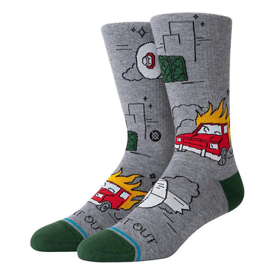 Stance Burnt Out Crew Sock