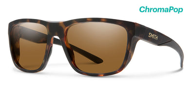 Smith Barra ChromaPop Sunglass Matte Tortoise/ Polarized Brown