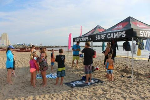 Wes Laine 1 Day Surf Camp presented Quiksilver