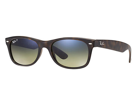 Ray Ban New Wayfarer Classic Blue/Green Gradient Polarized