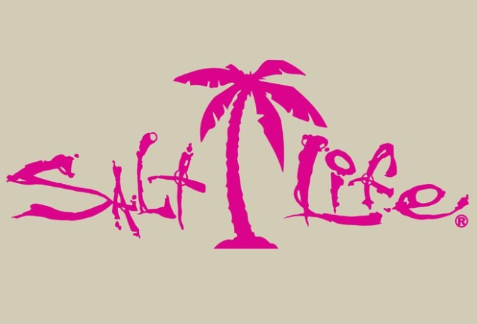 Salt Life Signature Palm Tree Decal