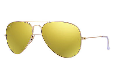 Ray Ban Aviator Flash Gold/Yellow