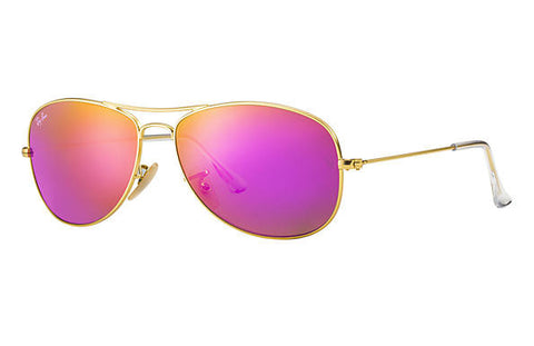 Ray Ban Cockpit Gold/Cyclamen Flash