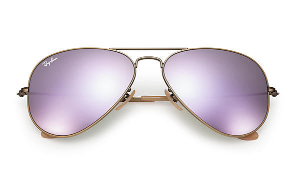 Aviator Flash Gold/Lilac