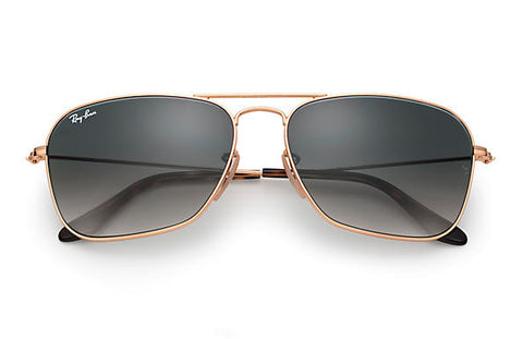 Ray Ban Caravan Gold/Grey Gradient