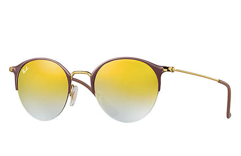 Ray Ban Brown/Green Gradient Mirror