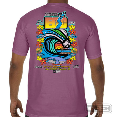 Coastal Edge East Coast Surfing Championship 2020 S/S T-Shirt Berry