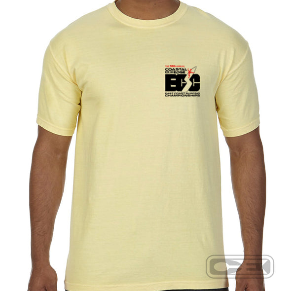 Coastal Edge East Coast Surfing Championship 2020 S/S T-Shirt Butter