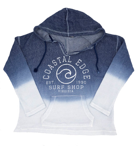 Coastal Edge Circle Wave Baja Navy