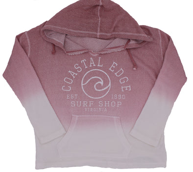 Coastal Edge Circle Wave Baja Rose